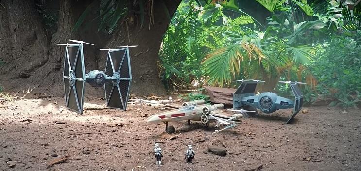 Esta batalla de drones de Star Wars a los fanáticos encantará 02