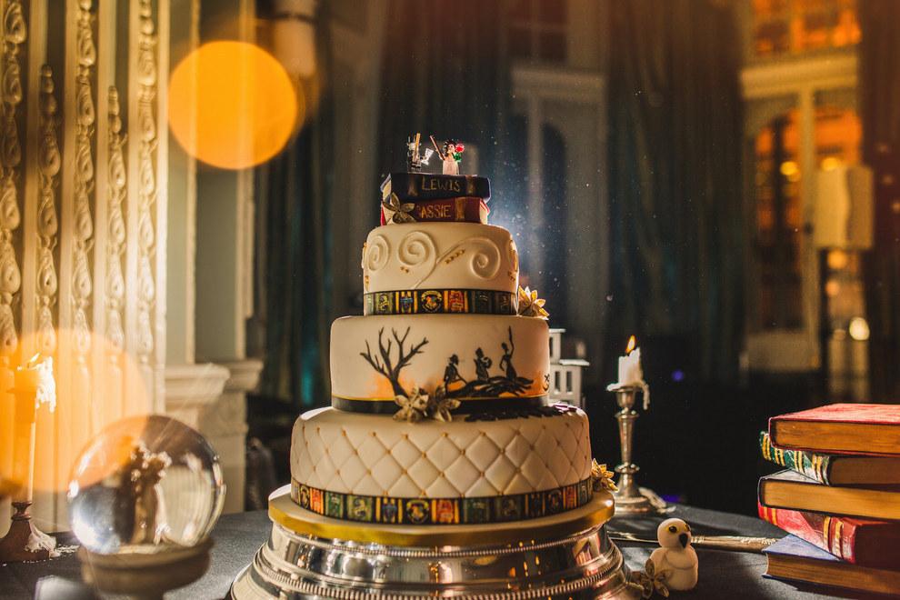 Esta boda de Harry Potter es realmente mágica y genial 05