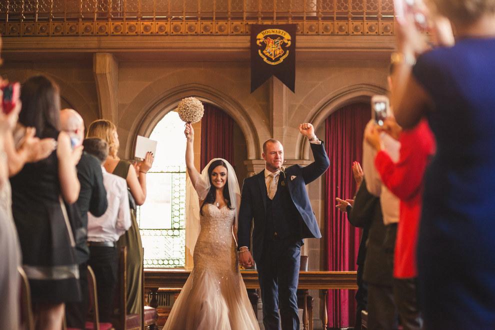 Esta boda de Harry Potter es realmente mágica y genial 20