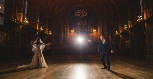Esta boda de Harry Potter es realmente mágica