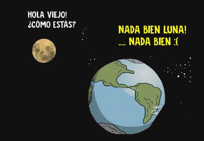 Esta conversación entre la Luna y la Tierra nos explica un gran problema de nuestro planeta 01