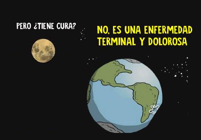 Esta conversación entre la Luna y la Tierra nos explica un gran problema de nuestro planeta 03