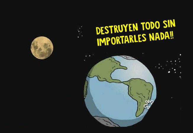 Esta conversación entre la Luna y la Tierra nos explica un gran problema de nuestro planeta 04