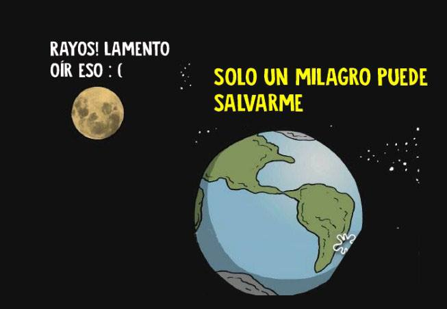 Esta conversación entre la Luna y la Tierra nos explica un gran problema de nuestro planeta 06