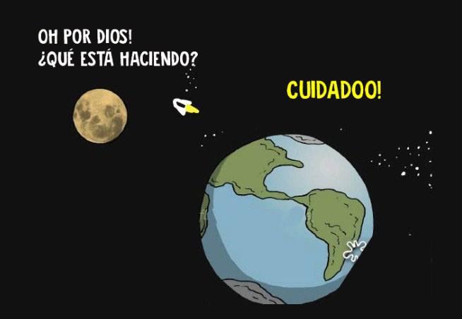 Esta conversación entre la Luna y la Tierra nos explica un gran problema de nuestro planeta 08