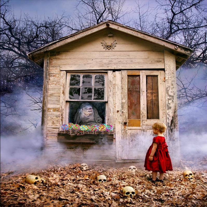 Este fotógrafo convirtió a sus hijas en protagonistas de películas de terror 03