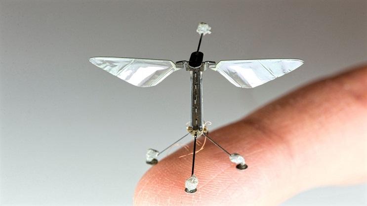 Estos geniales minirobots se cuelgan como murciélagos reales 1