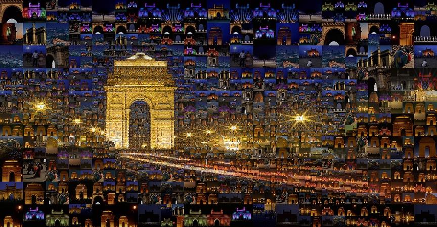 Estos mosaicos con fotografías están dando mucho que hablar