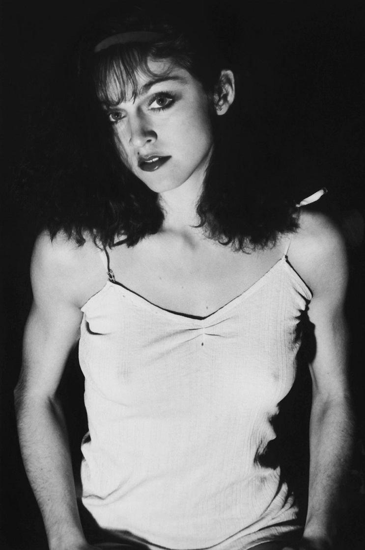 Fotografías de Madonna cuando todavía no había alcanzado la fama 03