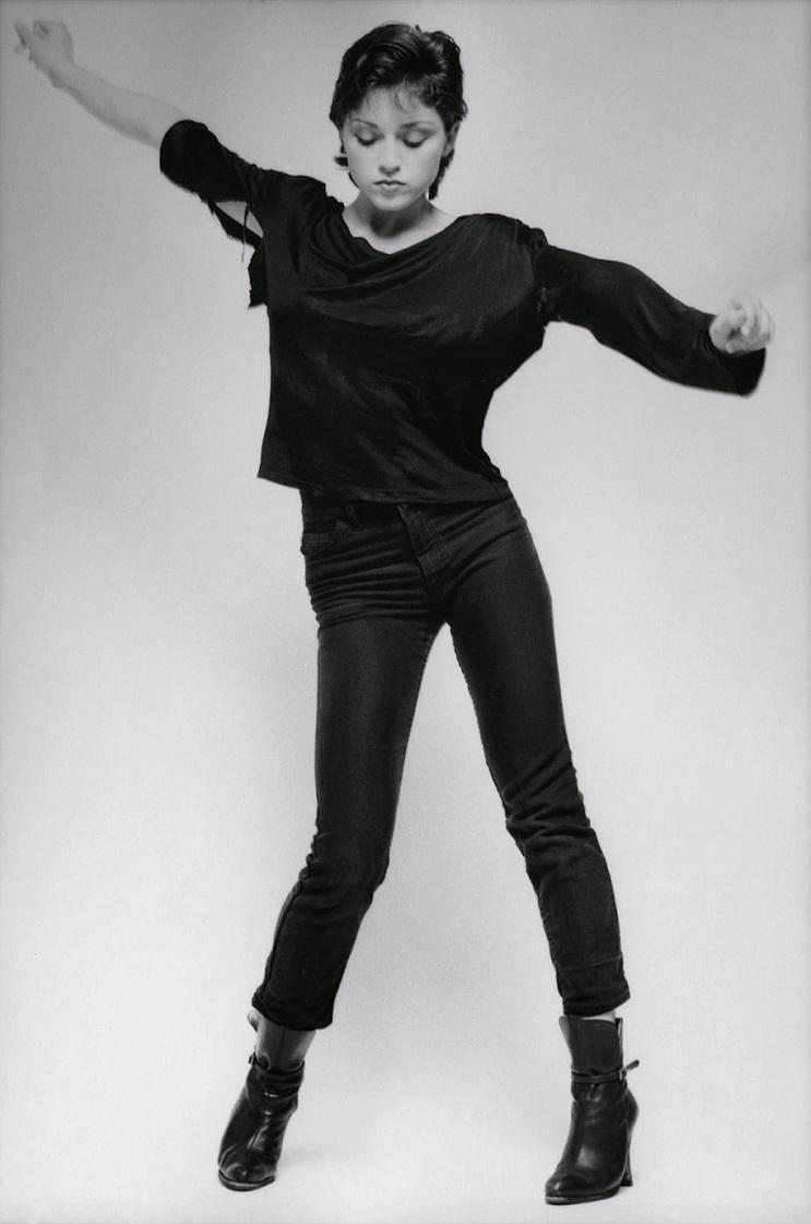 Fotografías de Madonna cuando todavía no había alcanzado la fama 08