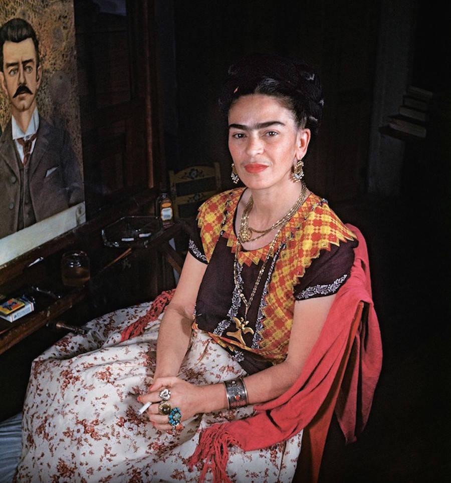 Fotografías inéditas de Frida Kahlo poco antes de su muerte 02