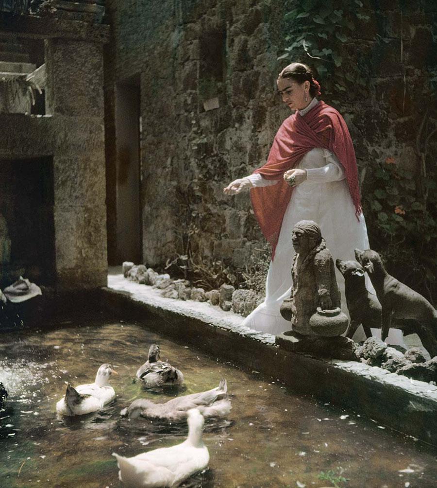 Fotografías inéditas de Frida Kahlo poco antes de su muerte 03