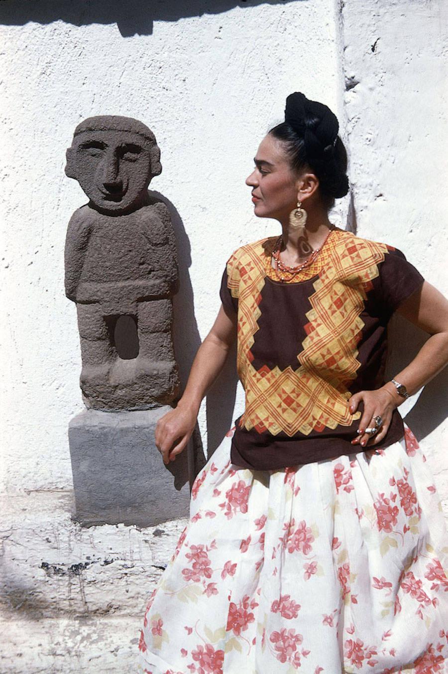 Fotografías inéditas de Frida Kahlo poco antes de su muerte 12