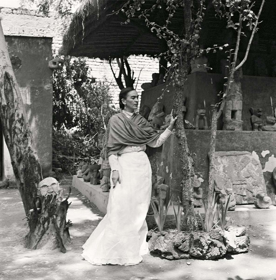 Fotografías inéditas de Frida Kahlo poco antes de su muerte 14