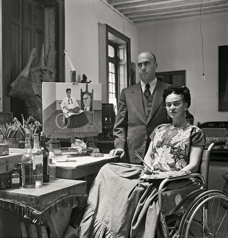Fotografías inéditas de Frida Kahlo poco antes de su muerte 16