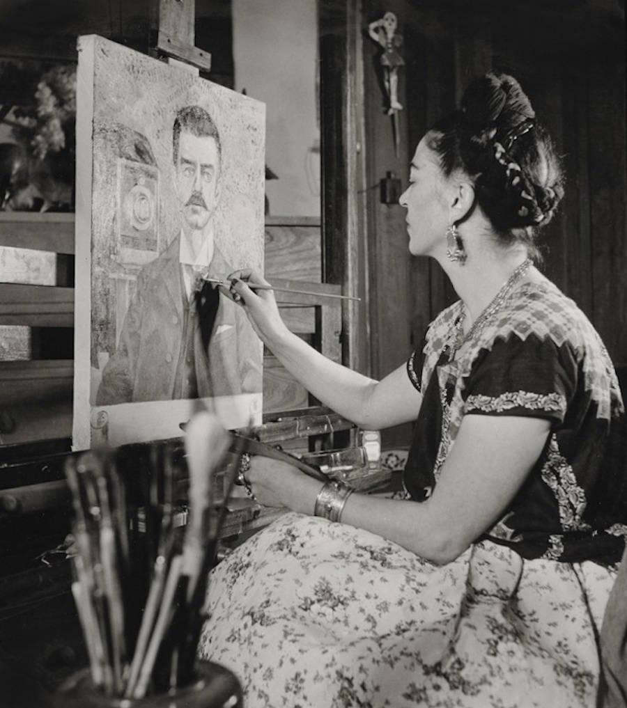Fotografías inéditas de Frida Kahlo poco antes de su muerte 17