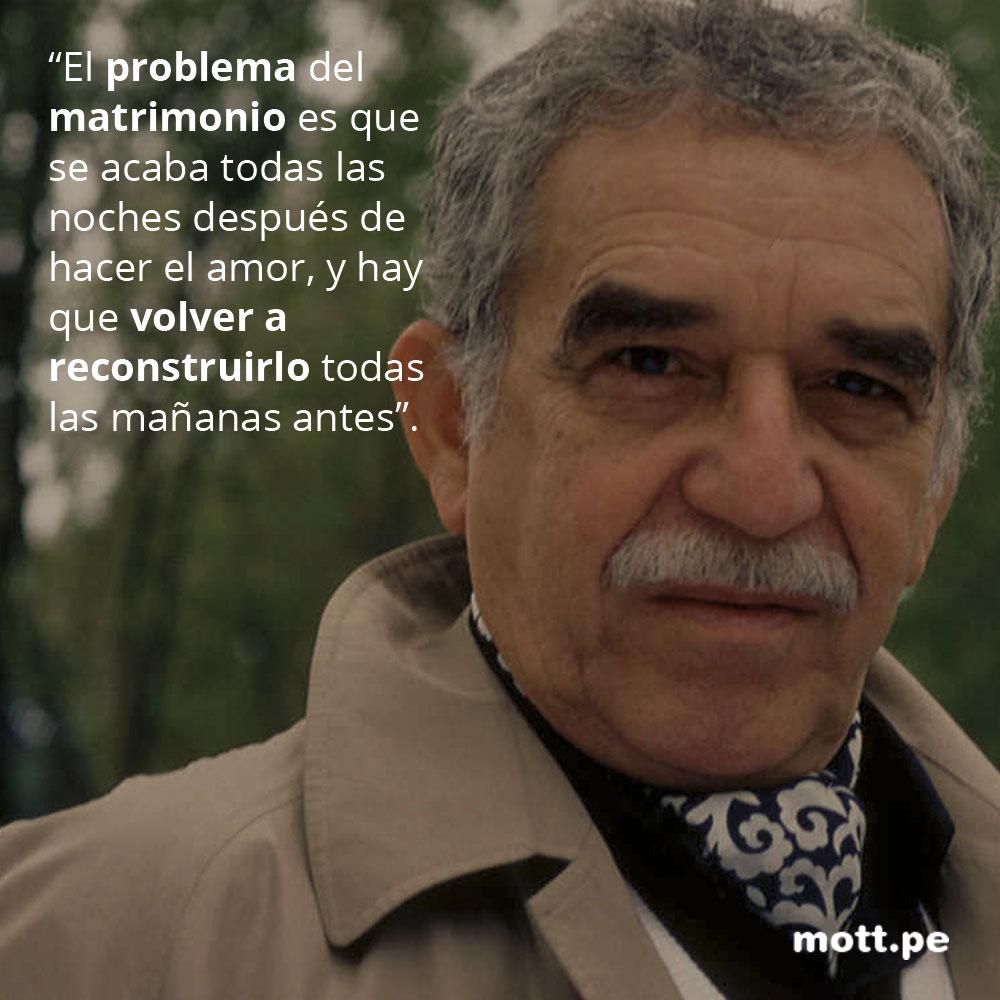 Frases del gran Gabriel García Márquez que nos dejarán pensando 003