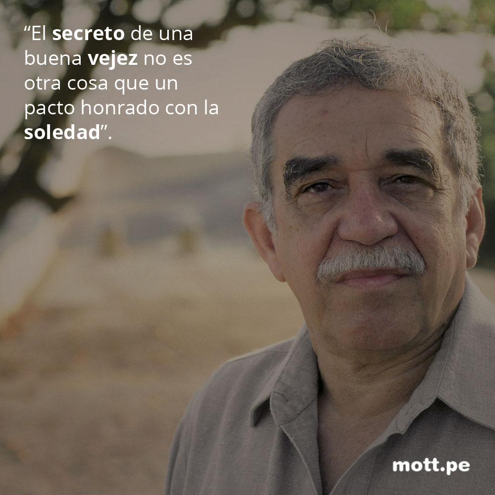Frases del gran Gabriel García Márquez que nos dejarán pensando 004