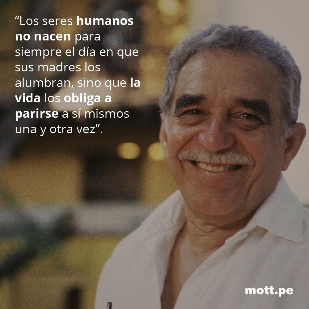 Frases del gran Gabriel García Márquez que nos dejarán pensando 005