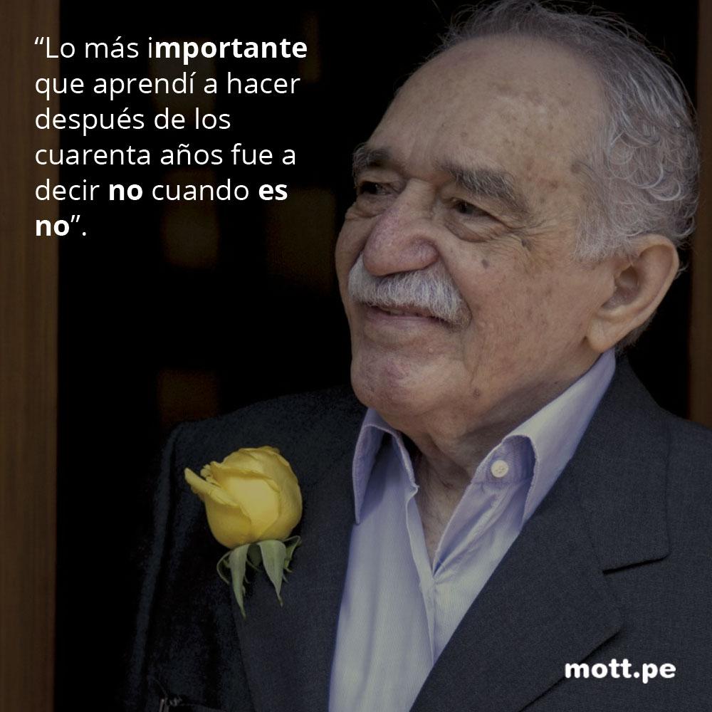 Frases del gran Gabriel García Márquez que nos dejarán pensando 006
