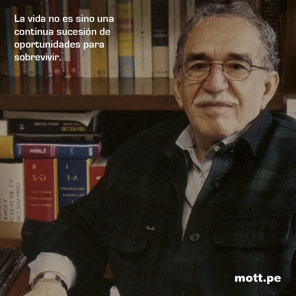 Frases del gran Gabriel García Márquez que nos dejarán pensando 007