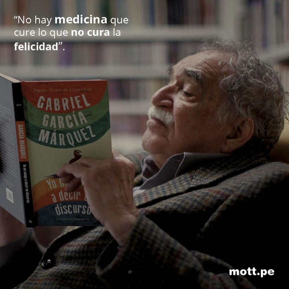 Frases del gran Gabriel García Márquez que nos dejarán pensando 008