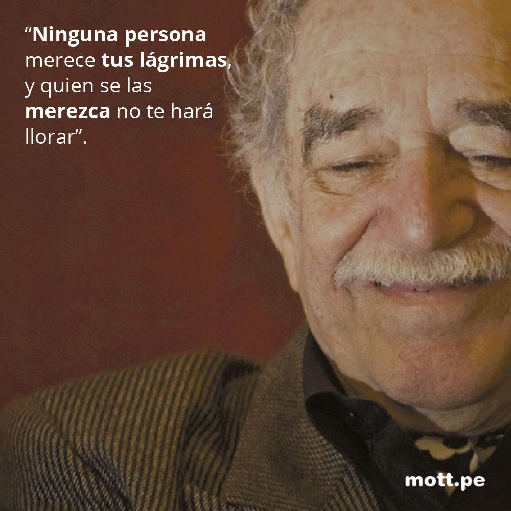 Frases del gran Gabriel García Márquez que nos dejarán pensando 009