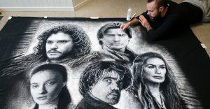 Impresionantes retratos hechos con sal