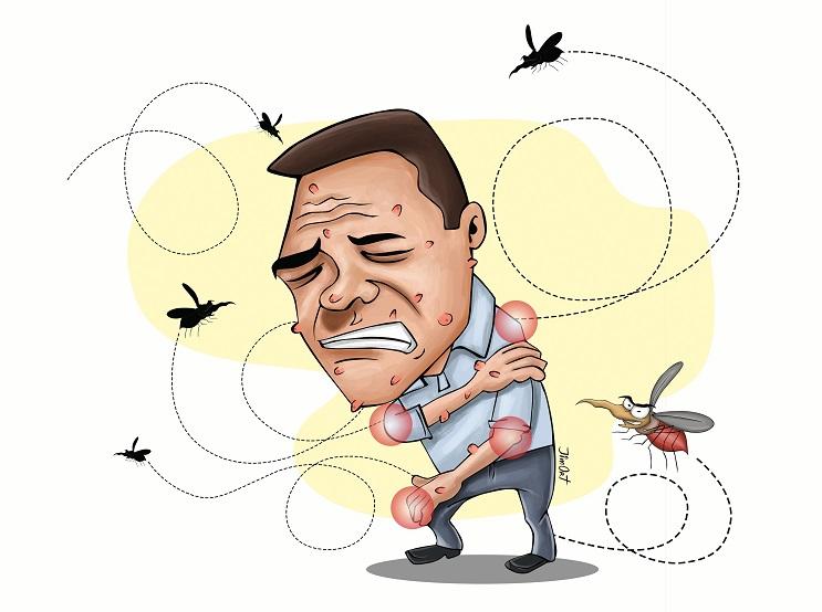 La razón porqué los mosquitos le pican a unos y a otros no 7