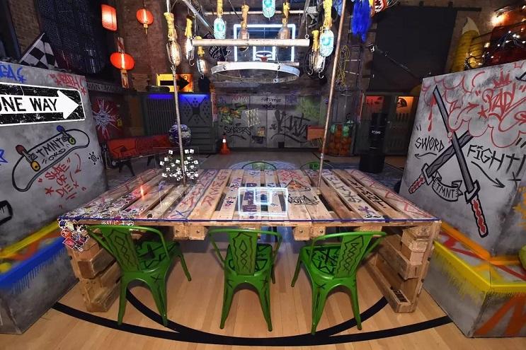 La vivienda de las Tortugas Ninja recreada en este dormitorio en Nueva York 06