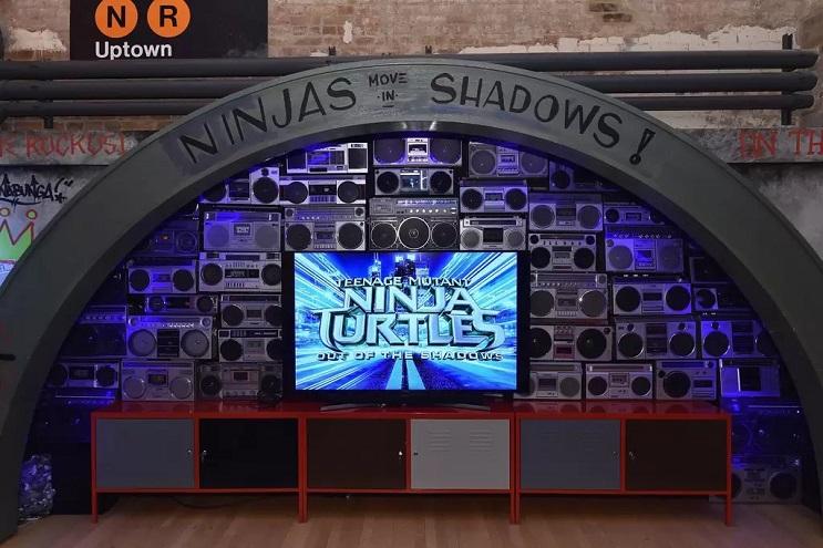 La vivienda de las Tortugas Ninja recreada en este dormitorio en Nueva York 09