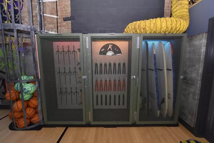 La vivienda de las Tortugas Ninja recreada en este dormitorio en Nueva York 12