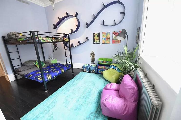 La vivienda de las Tortugas Ninja recreada en este dormitorio en Nueva York 14