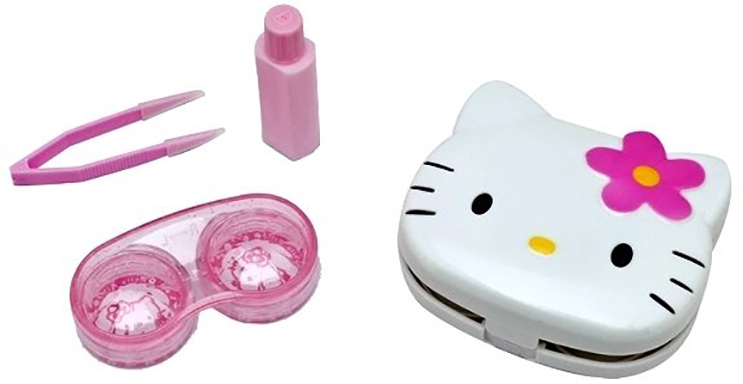 Lentes de contacto de Hello Kitty4