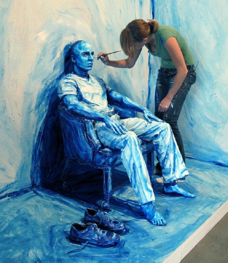 Los 10 mejores artistas contemporáneos del body paint que sorprenden con su arte 12