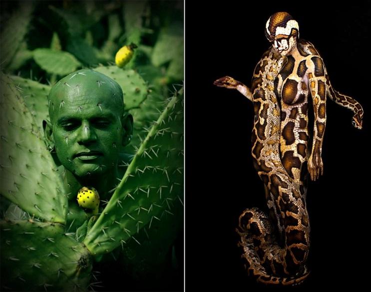 10 Artistas Contemporaneos Del Body Paint Que Sorprenden Con Su Arte Mott Pe