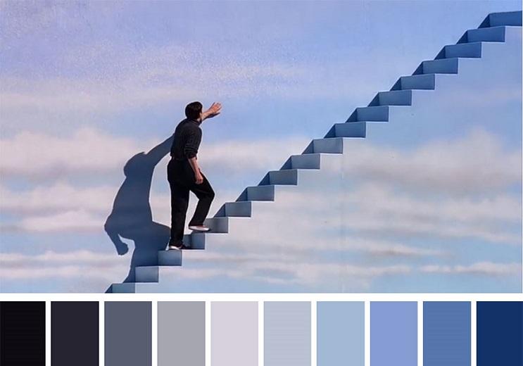 Los colores a partir de conocidas escenas de películas truman show