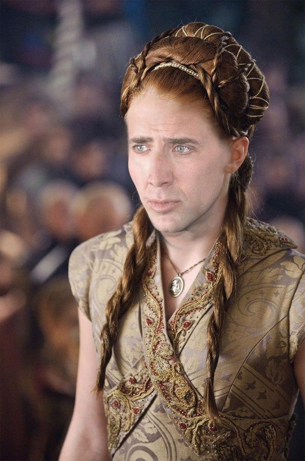 Nicolas Cage se suma a la fiebre de Game of Thrones de la más divertida manera 11