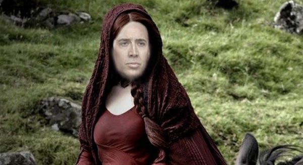 Nicolas Cage se suma a la fiebre de Game of Thrones de la más divertida manera 13