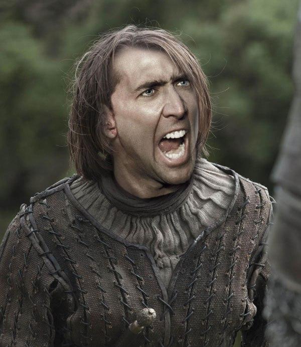 Nicolas Cage se suma a la fiebre de Game of Thrones de la más divertida manera 22