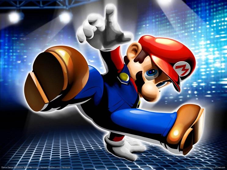 Sabías que la música de Super Mario Bros tiene letra bailando