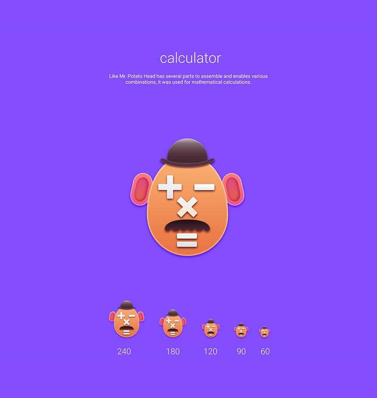 Si los personajes de Toy Story fueran convertidos en aplicaciones calculadora