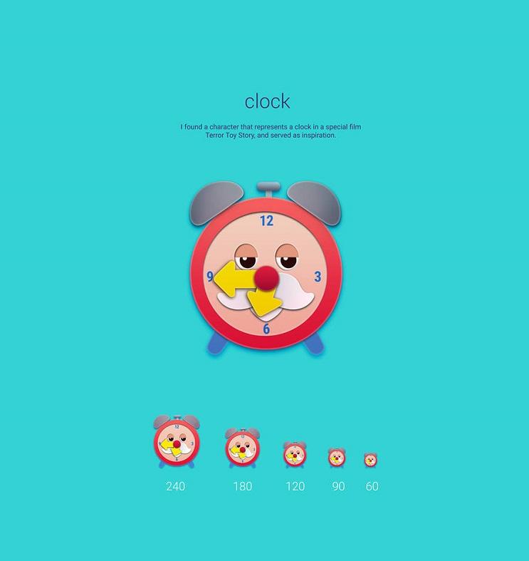 Si los personajes de Toy Story fueran convertidos en aplicaciones clock