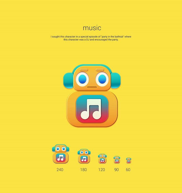 Si los personajes de Toy Story fueran convertidos en aplicaciones music
