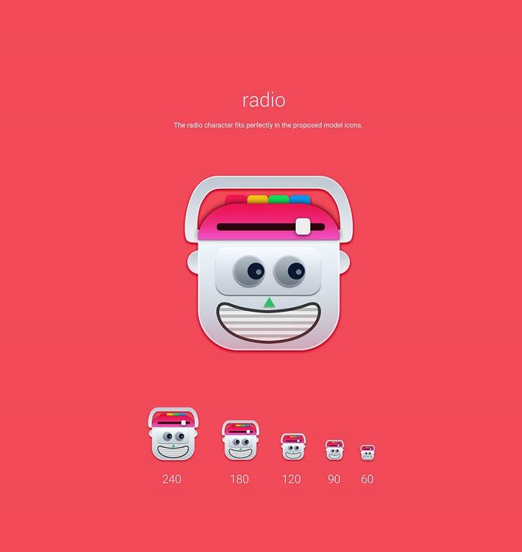Si los personajes de Toy Story fueran convertidos en aplicaciones radio