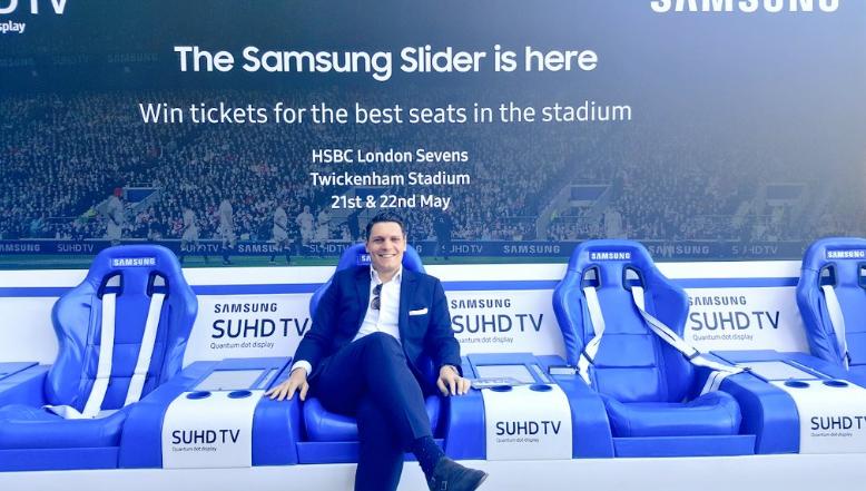 Tribunas deslizantes para ver tu partido favorito Samsung las tiene 02