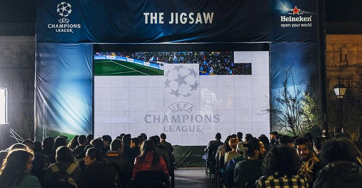 Una genial campaña para ver acompañados la Champions