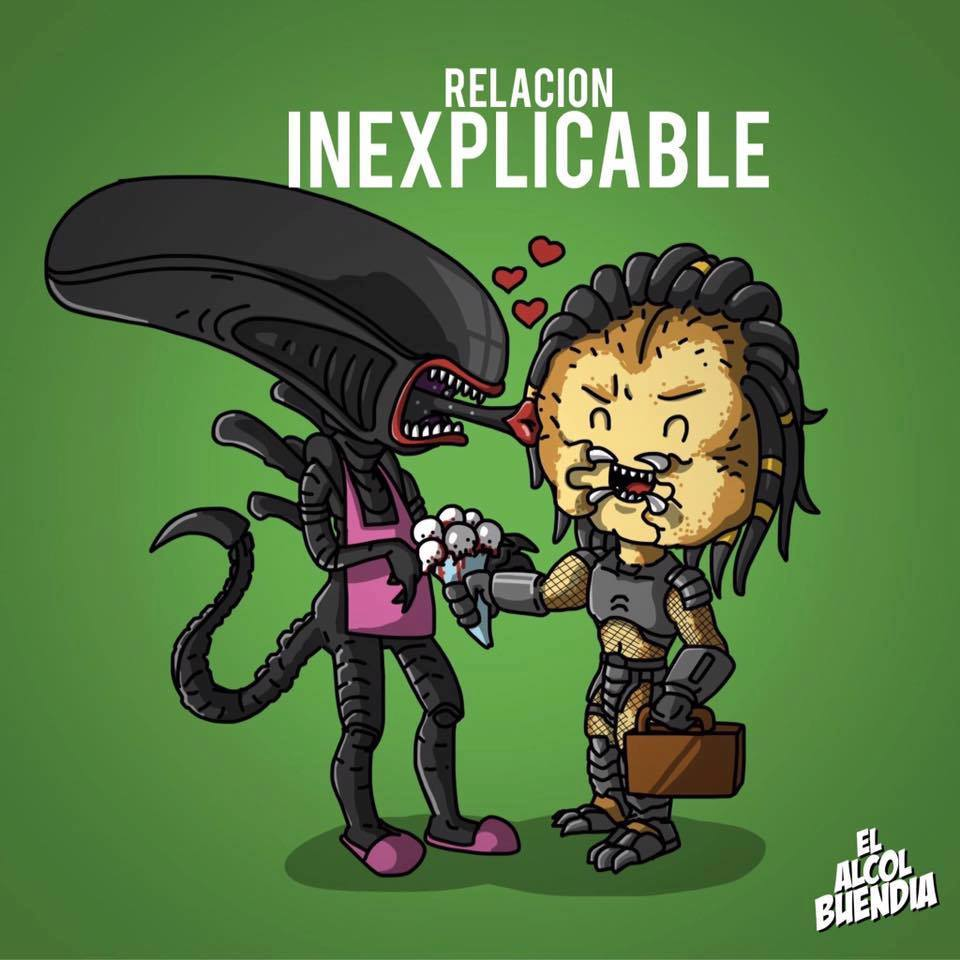 Y tú, qué tipo de relación tienes alien predator