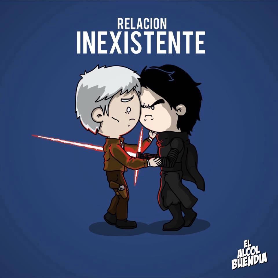 Y tú, qué tipo de relación tienes the force awakens