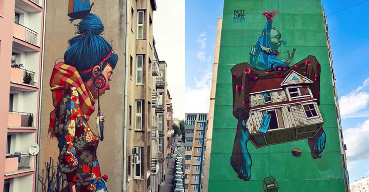 Estos enormes murales te demostrarán que para el arte no hay límites